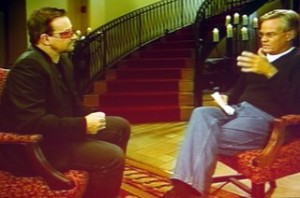 Bono and Bill Hybels