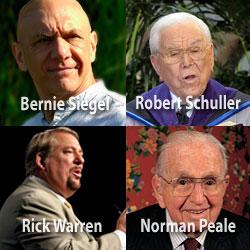 Peale, Schuller, Warren and New Age Leader Bernie Siegel