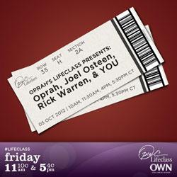 Rick Warren and Joel Osteen Join Hands With Oprah