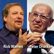 "Rick Warren Mentor Peter Drucker: ""I'm Not A Born Again Christian"""